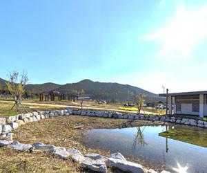 생태연못 파노라마 보기